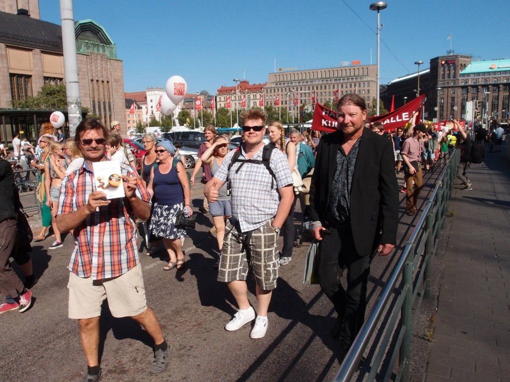 EI LEIKATA mielenilmaisu Helsingissä