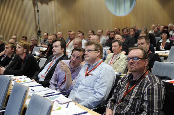 Liittokokous edustajia 2011