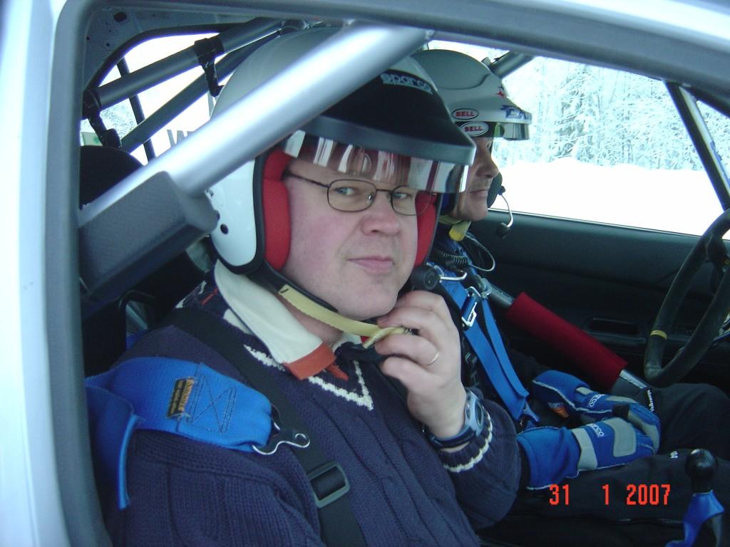 Juha Kankkusen kyydissä, Kuusamo 2007