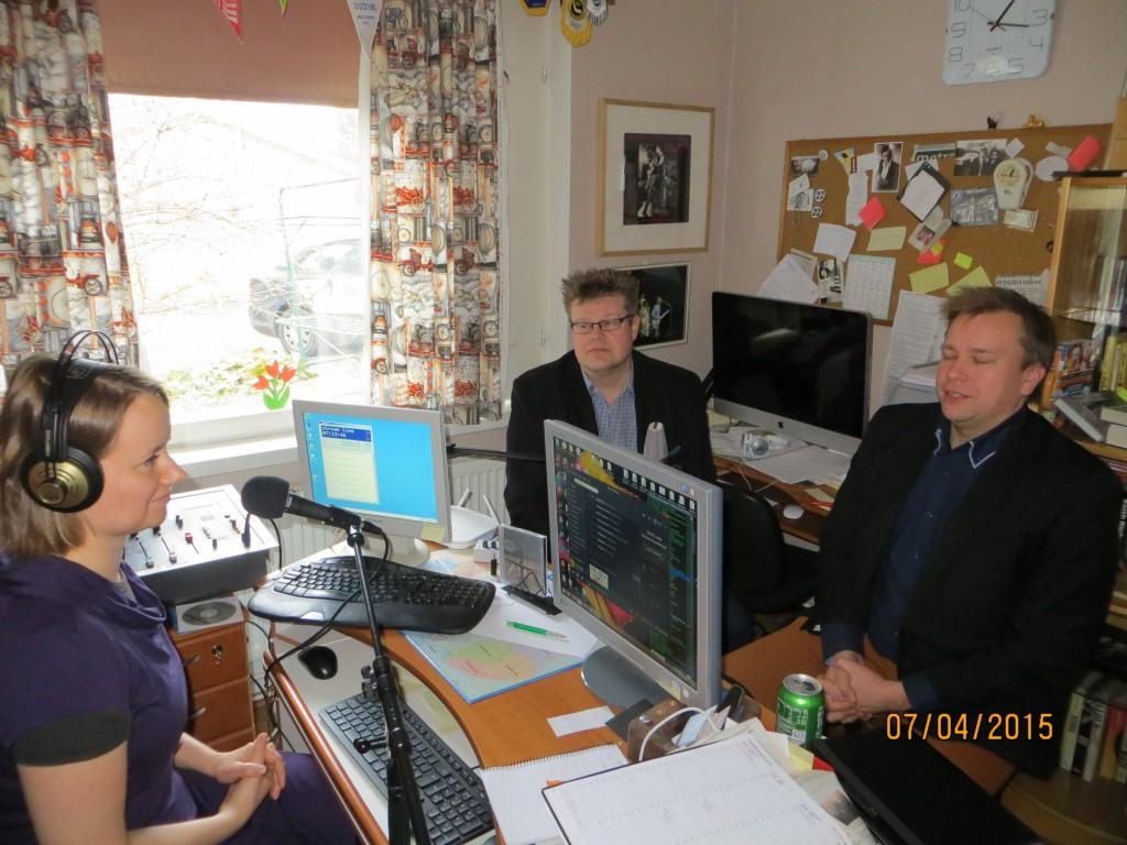 Jari ja Antti Kaikkonen ROLL FM:n vieraana 2015