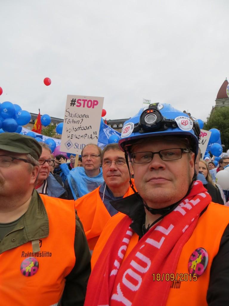 STOP mielenilmaisu 18.9.2015,Helsinki