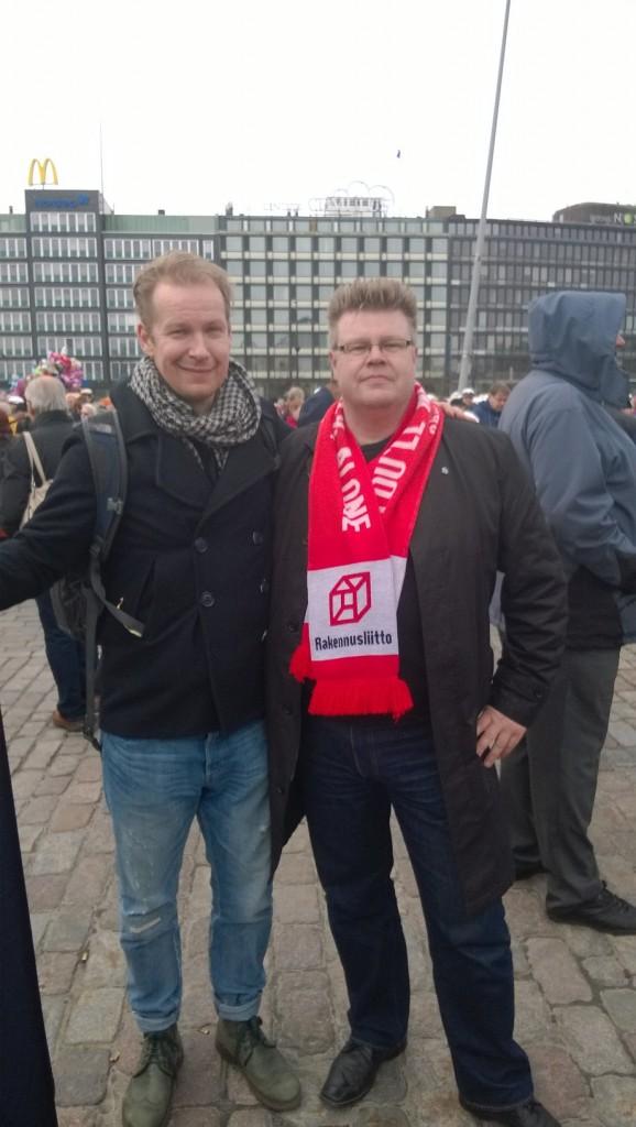 Vappu marsilla 2015, Hakaniemen tori